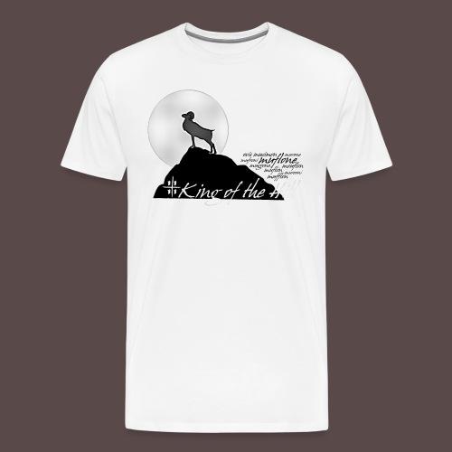 Muflone Halftone - Maglietta Premium da uomo