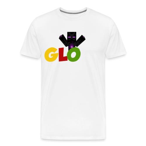 Minecraft - Glow - Männer Premium T-Shirt