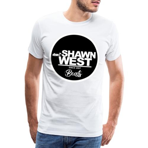 SHAWN WEST BUTTON - Männer Premium T-Shirt