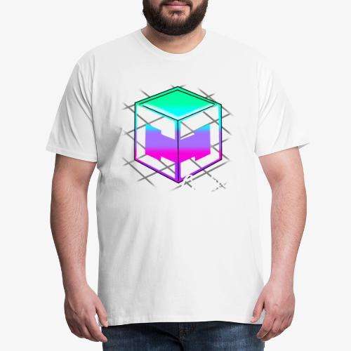 Cookie Cutter - Retro Logo - Men's Premium T-Shirt