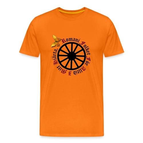 LennyhjulRomaniFolketisvartfjaerli - Premium-T-shirt herr