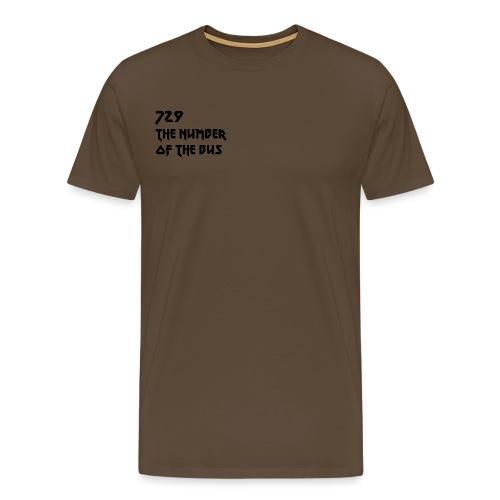 729 nero - Maglietta Premium da uomo