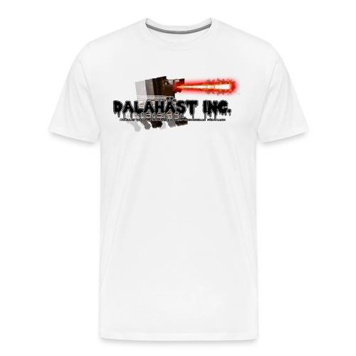 Dalahäst Inc Logo - Premium-T-shirt herr
