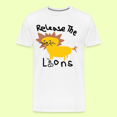 lionking gif - Männer Premium T-Shirt