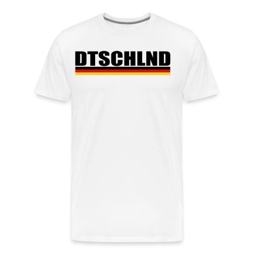 dtschschlnd 2018 - Männer Premium T-Shirt