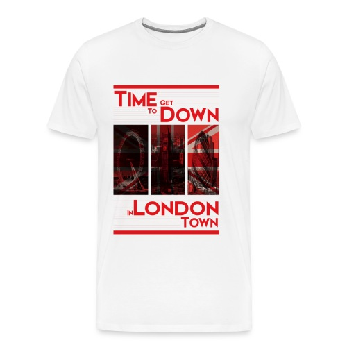 Down In.. (Red) By HXG - Men's Premium T-Shirt