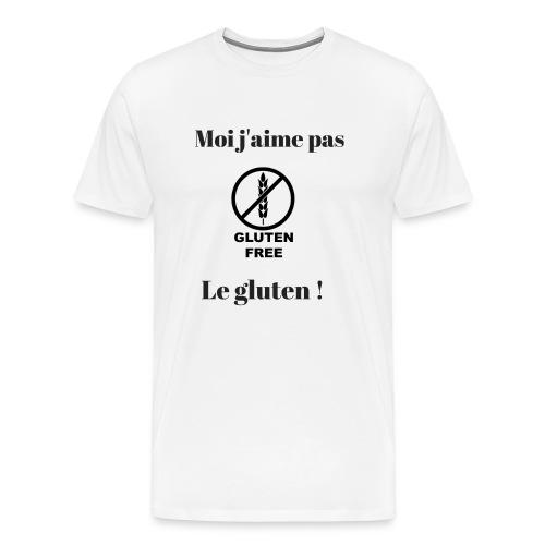 Moi j'ai pas le gluten - T-shirt Premium Homme