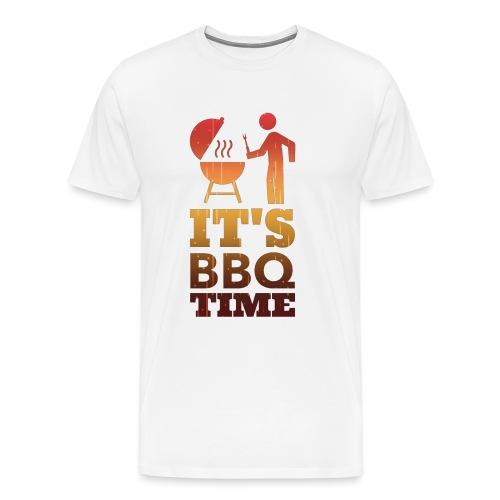 It's BBQ Time - Mannen Premium T-shirt