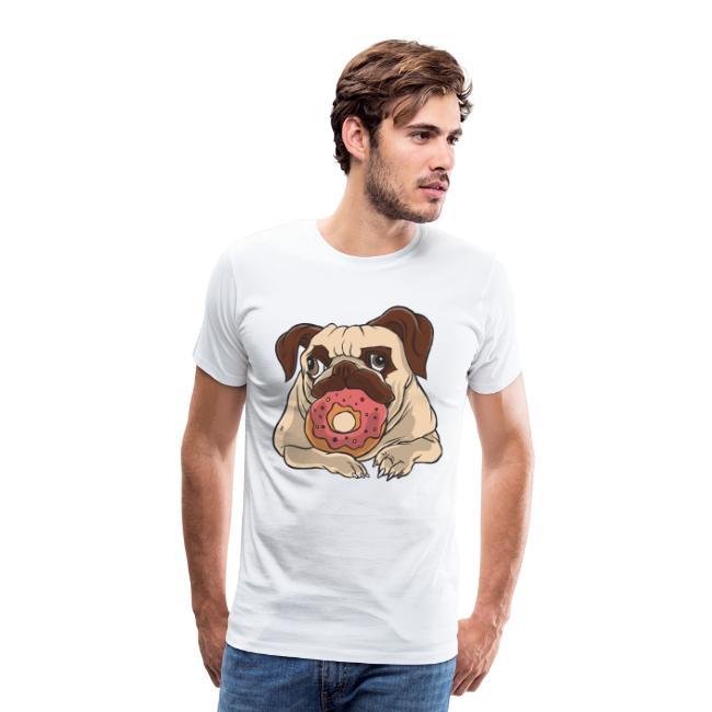 Beste Hund Hunde donut Mops