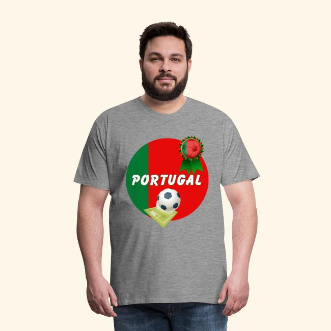 Portugal Football Team Supporter Rosette Ball &