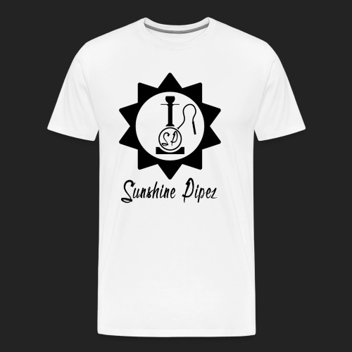 Sunshine Pipez - Logo (Black) - Men's Premium T-Shirt