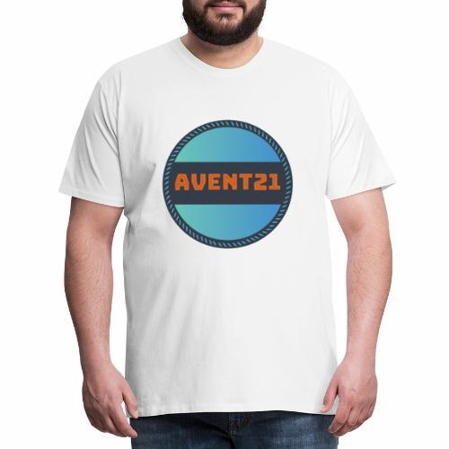 avent21 logo - Men's Premium T-Shirt