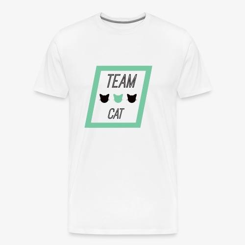 Team Cat - Slogan Tee - Koszulka męska Premium