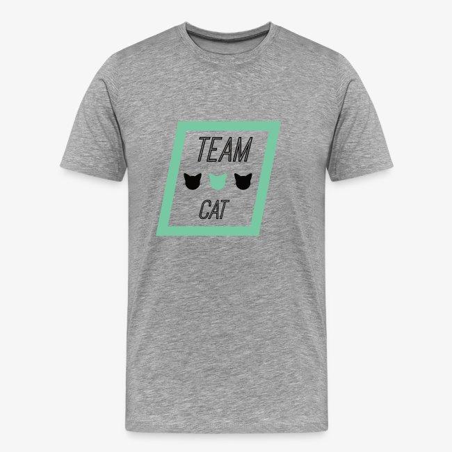 Team Cat - Slogan Tee