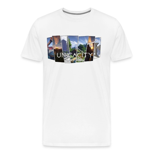BannerTransparent - Männer Premium T-Shirt