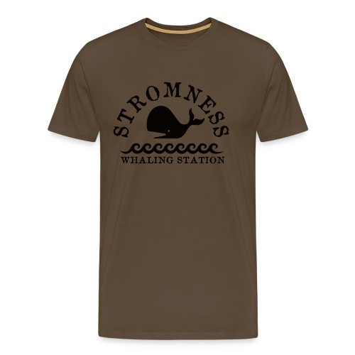 Sromness Whaling Station - Men's Premium T-Shirt