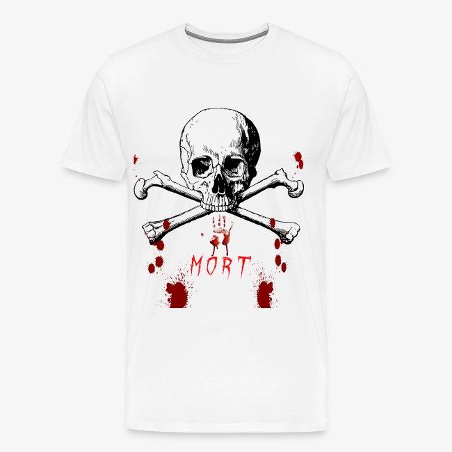 Mort design avec sang