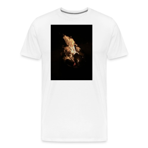 Bonfire Print - Men's Premium T-Shirt