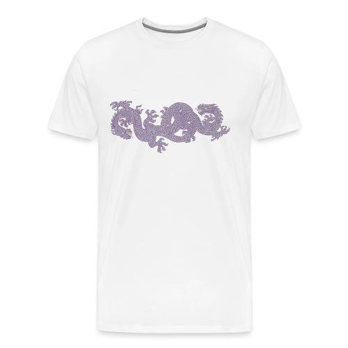 Zwillingsdrache 01 - Männer Premium T-Shirt