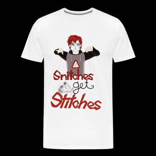 SGS Creepy Smile - Männer Premium T-Shirt