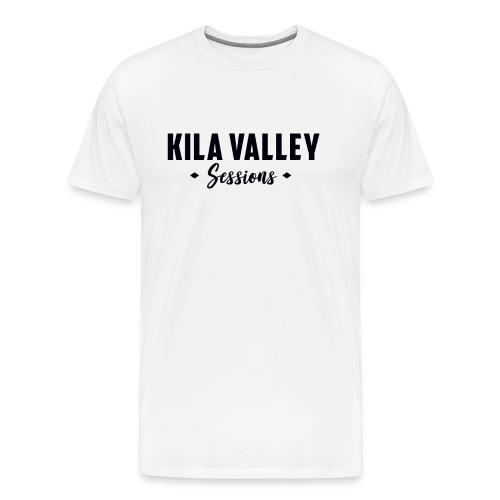 KILA TEXT BLACK png - Premium-T-shirt herr