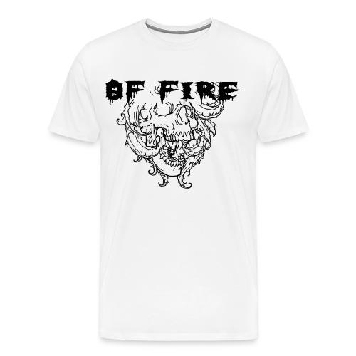 Of Fire Carnage Skull Bla - Men's Premium T-Shirt