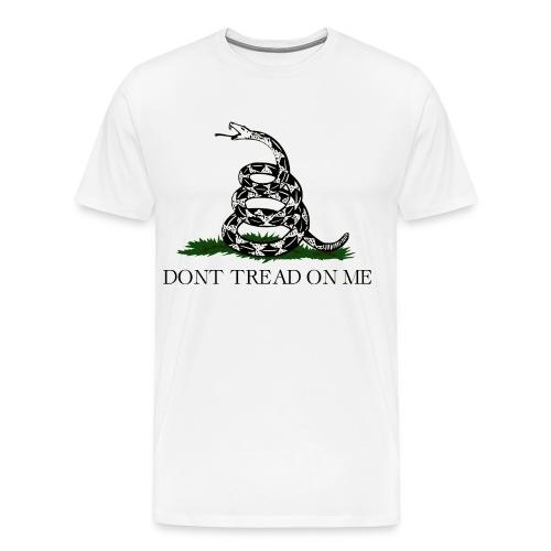 gadsden flag transparent png - Männer Premium T-Shirt