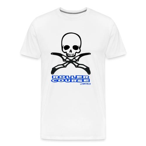 Skull rollercourse - T-shirt Premium Homme