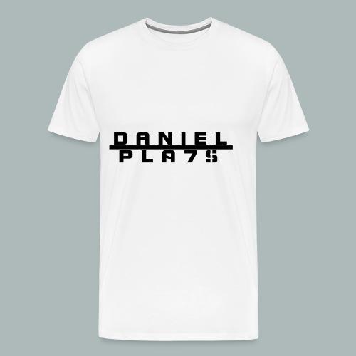 DanielPla7s Black - Männer Premium T-Shirt