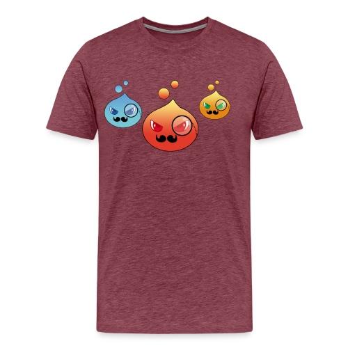 Outlezz - Gentlemen Slime - Männer Premium T-Shirt
