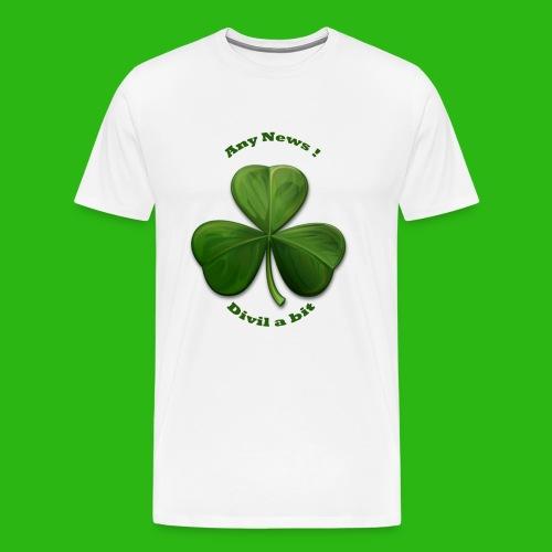 Any News Devil a Bit - Men's Premium T-Shirt