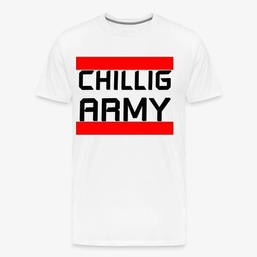 Chillig Army - Männer Premium T-Shirt