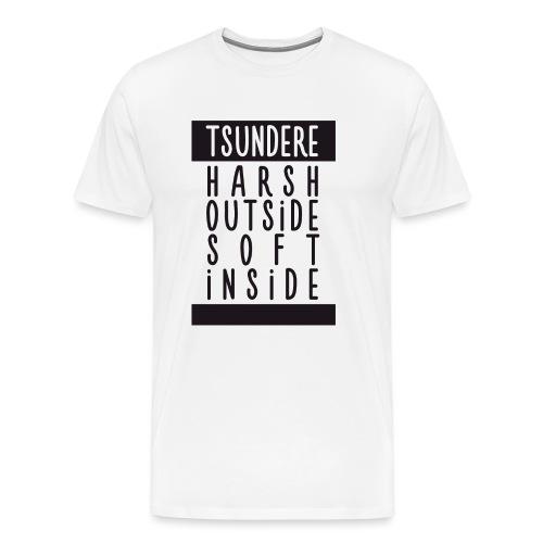 Tsundere manga - Men's Premium T-Shirt