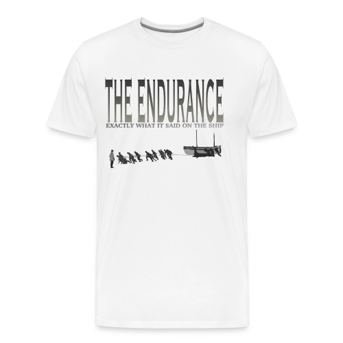 enduranceCUTout png - Men's Premium T-Shirt