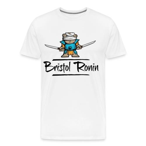 Swordbear_Scorpion_White - Men's Premium T-Shirt