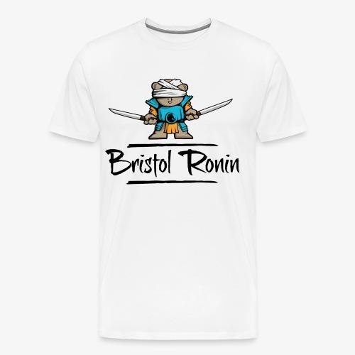 Swordbear_Unicorn_Black - Men's Premium T-Shirt