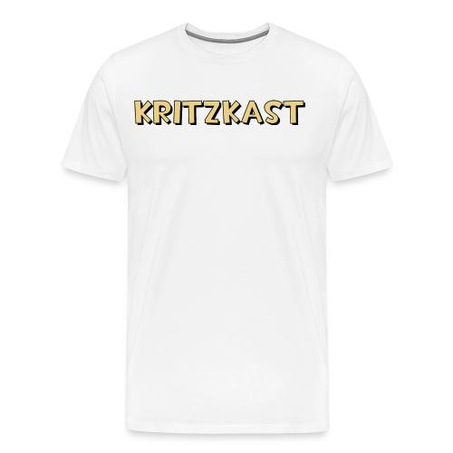 kritzkast name - Men's Premium T-Shirt