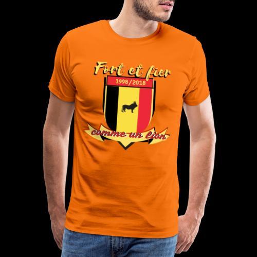 belgique foot coupe du monde - T-shirt Premium Homme