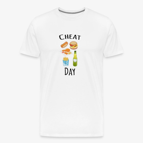 Cheat day - Men's Premium T-Shirt