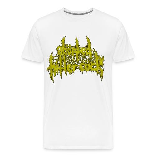 AxHxCx Logo in Vomitology Green - Men's Premium T-Shirt