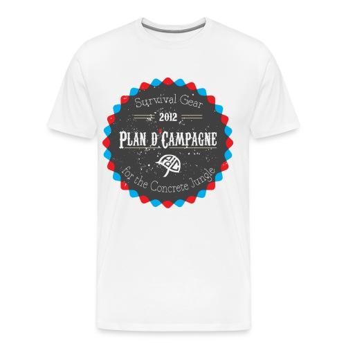 badge - Mannen Premium T-shirt