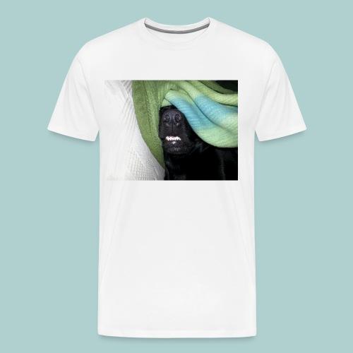 Kaline mit Schlafbrille - Männer Premium T-Shirt
