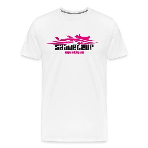 sauveteur aquatique - T-shirt Premium Homme