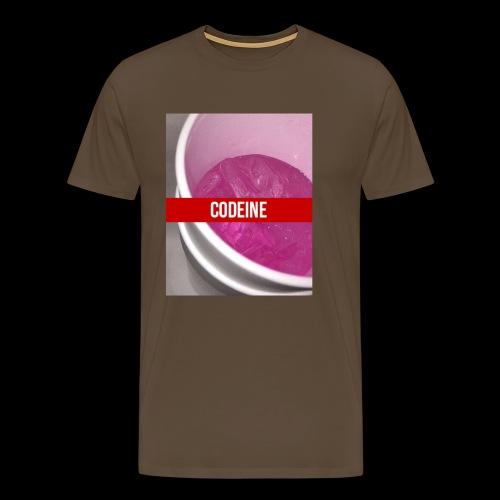 CODEINE STREETWEAR - Maglietta Premium da uomo