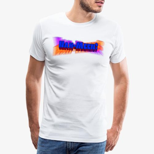 Nah meen blue - Men's Premium T-Shirt