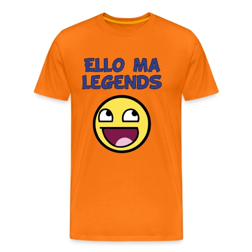MA LEGENDS tshirt Done black fixed gif - Men's Premium T-Shirt