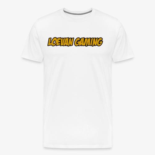logo classique jaune moutarde - T-shirt Premium Homme