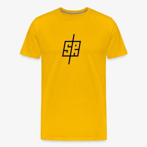 Black Logo (No Background) - Men's Premium T-Shirt