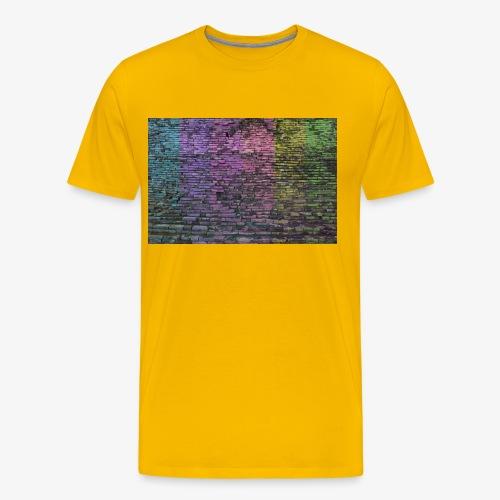 Regenbogenwand - Männer Premium T-Shirt