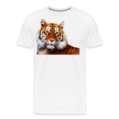 Fractalius Tiger - Mannen Premium T-shirt